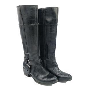Life Stride Black Wrangler Vegan Boot size 8M
